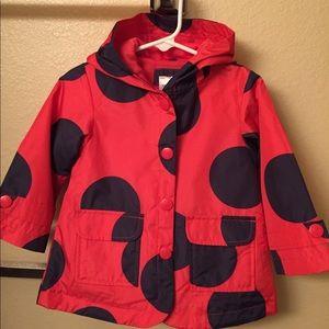 NEW: 18month ladybug raincoat, Carter's